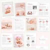Newborn Photography Magazine Template
