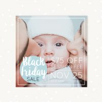 Black Friday Photography Template