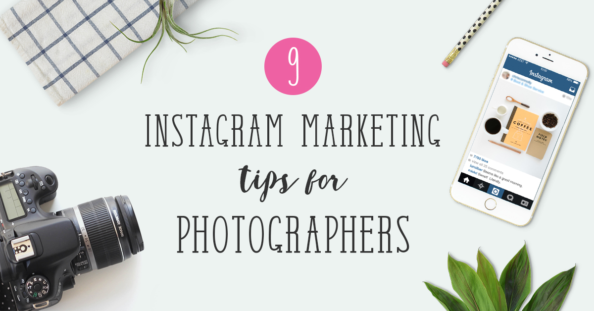 Instagram photography marketing