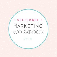 Photography marketing tips workbook
