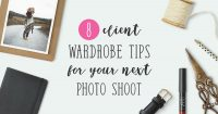 What to wear guide wardrobe tips photo shoot