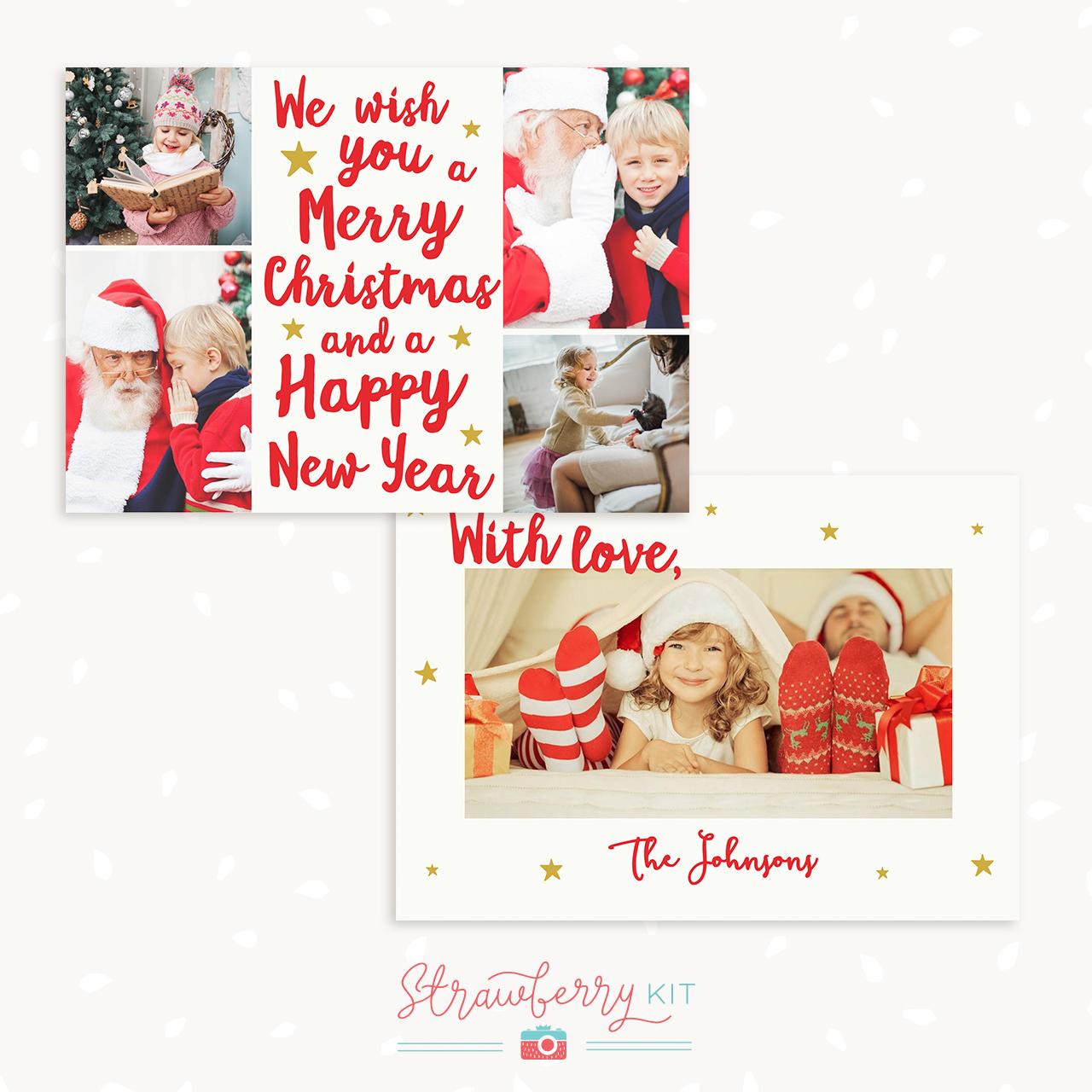 christmas templates photoshop