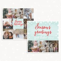 Christmas card photography
