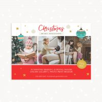 Holidays mini sessions template
