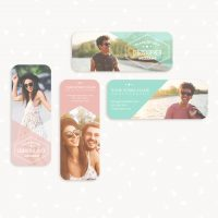 Senior rep card templates photography
