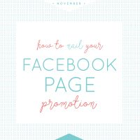 Facebook page promotion photographers