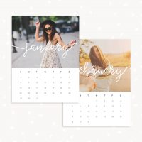 2017 Photography Calendar Template