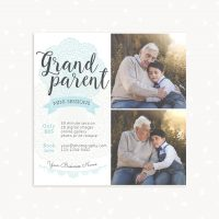 Grandparents mini session template