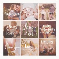 Valentine Photography Overlays
