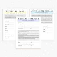 Model release forms photographer