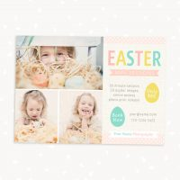 Easter mini sessions template linen