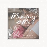 Floral Mommy and Me Mini Sessions Template