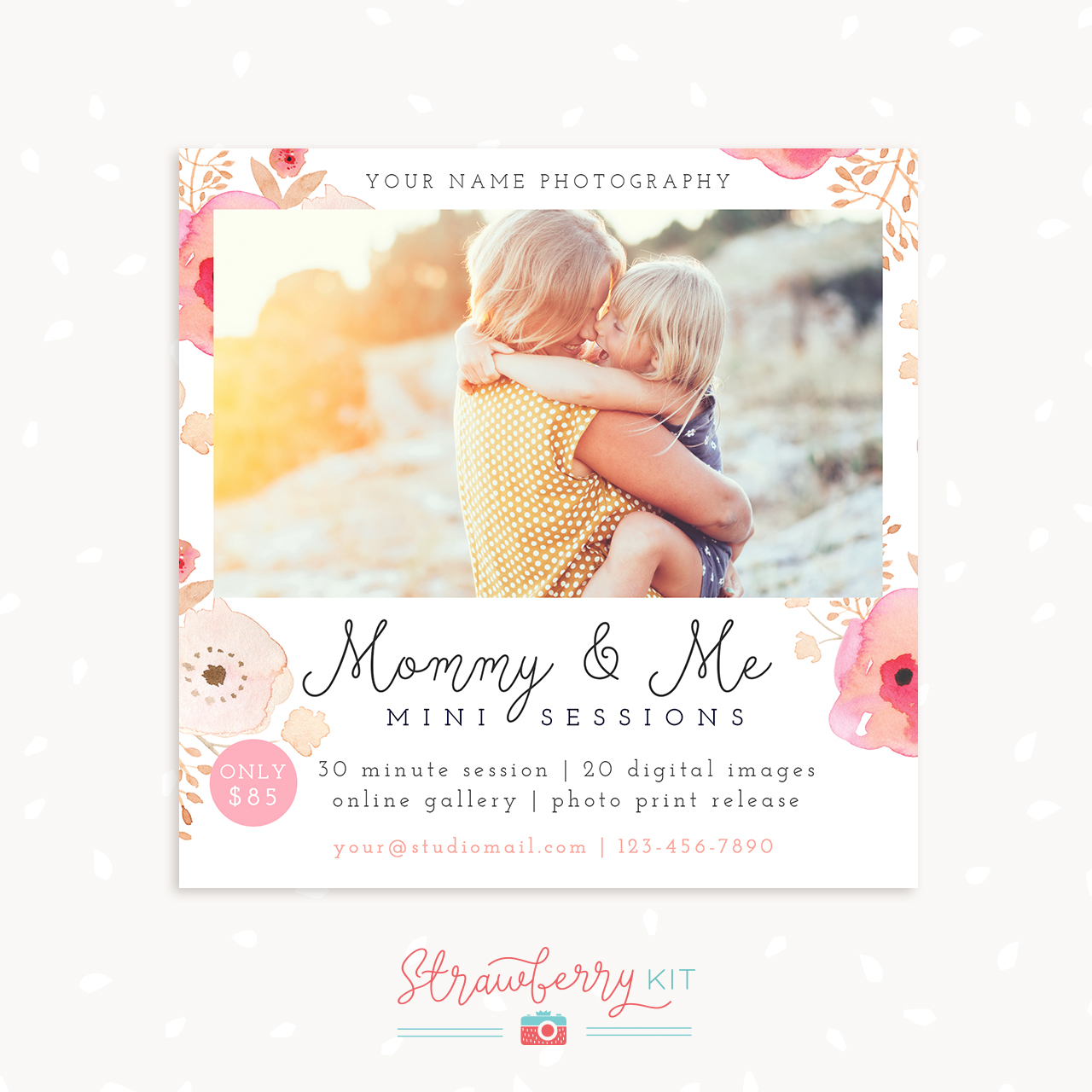 Mothers Day Floral Mini Sessions
