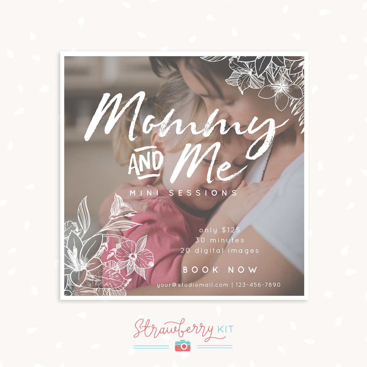Mothers Day Mini Sessions Template