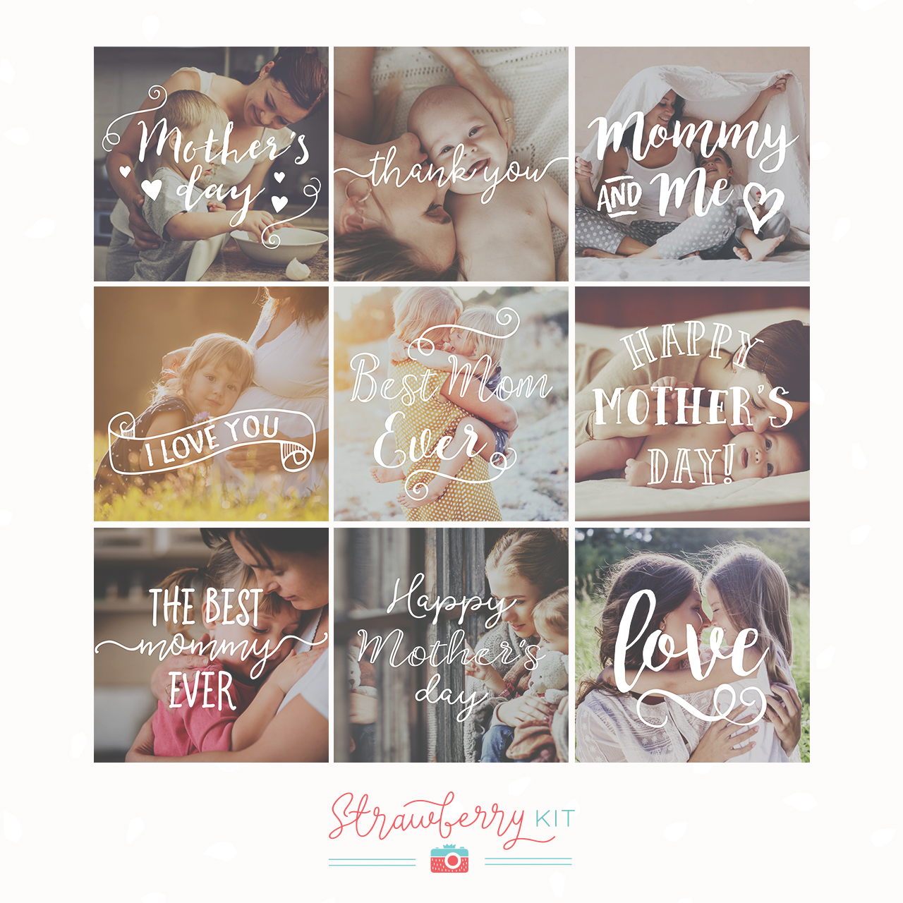 Mother's Day Overlays