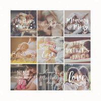 Mother's Day Photography Overlays