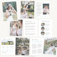 Wedding Photography Magazine Template