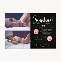 Boudoir mini sessions template