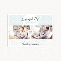 Father's day mini sessions template