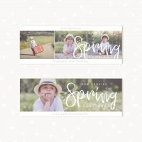 Spring Facebook Covers Templates