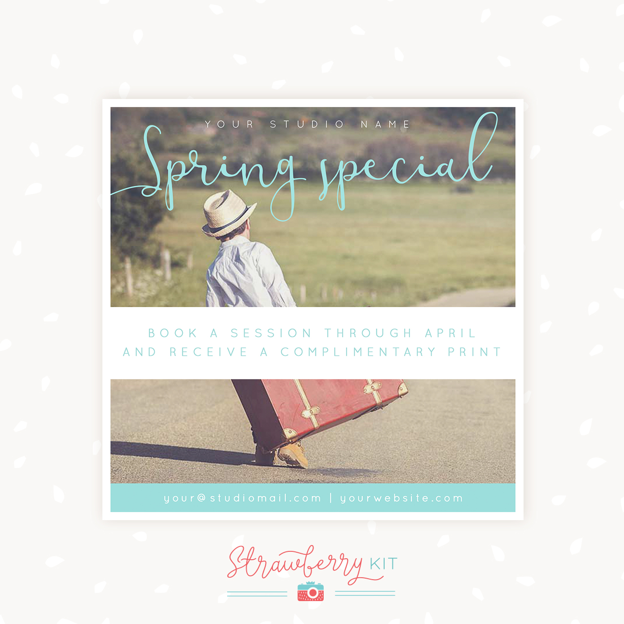 Spring Special Photography Template
