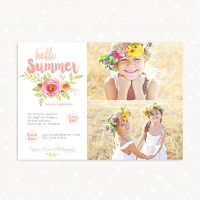 Summer mini sessions template photographers