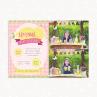 Lemonade mini sessions marketing board