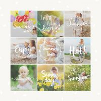 Photography Summer Overlays