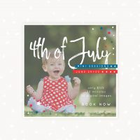 Americana mini sessions template