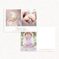 Kids Thank You Cards Template