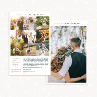 Photographer Flyer Template Photoshop