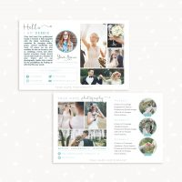 Photography Flyer Template Horizontal