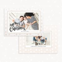 Christmas Card Template Photographer