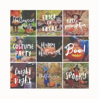 Halloween Photography Overlays