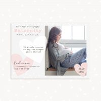 Maternity Mini Sessions Photographers Template