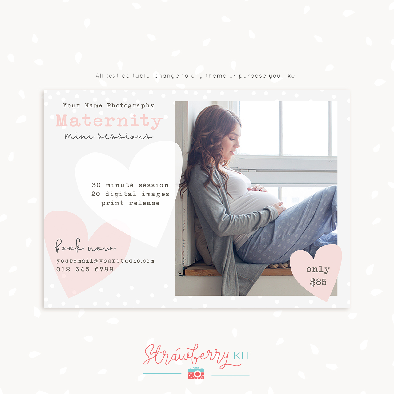 Maternity Mini Sessions Template