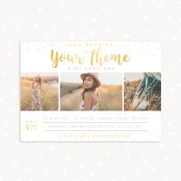 Photographer Mini Sessions Template