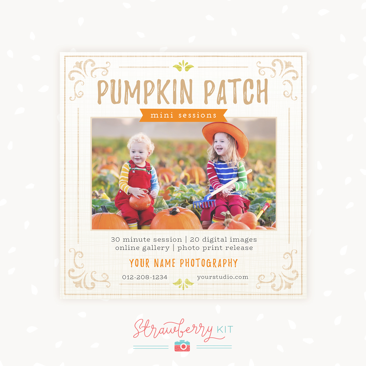 Pumpkin Patch Mini Sessions Photography