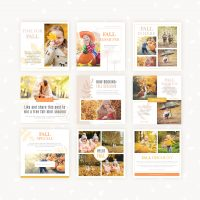 Fall Social Media Templates for Photographers