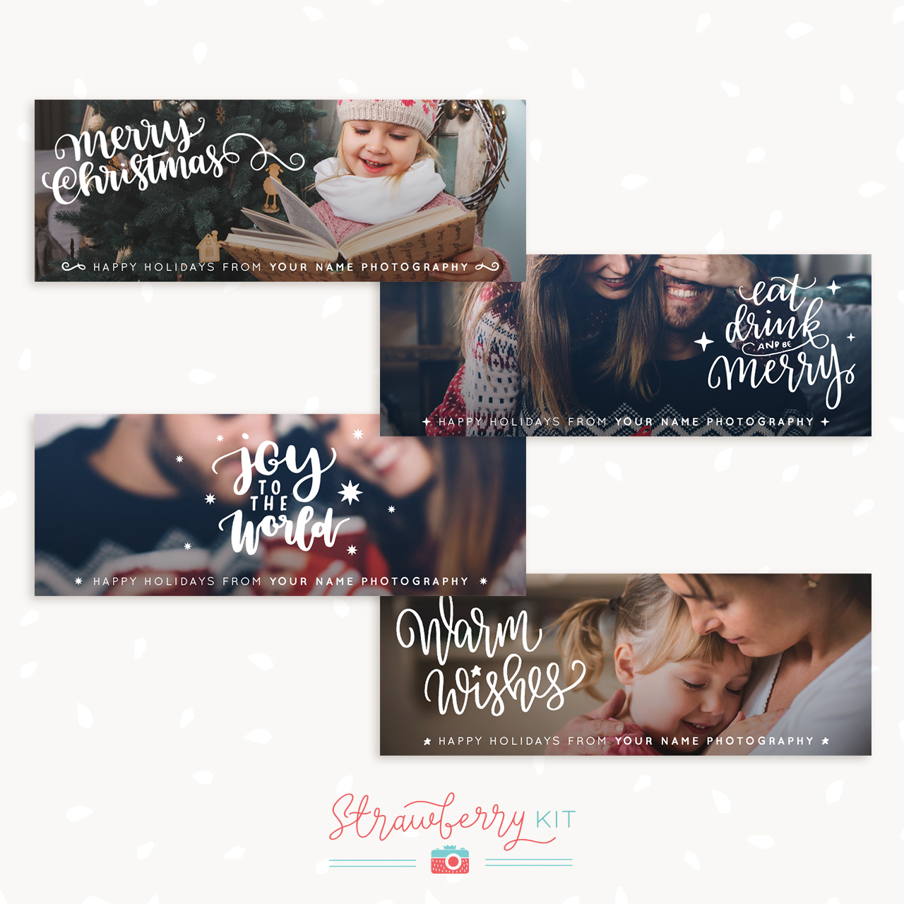 Christmas Facebook Covers Photography