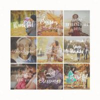 Thanksgiving Text Overlays