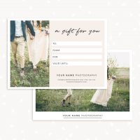 7x5 gift certificate template