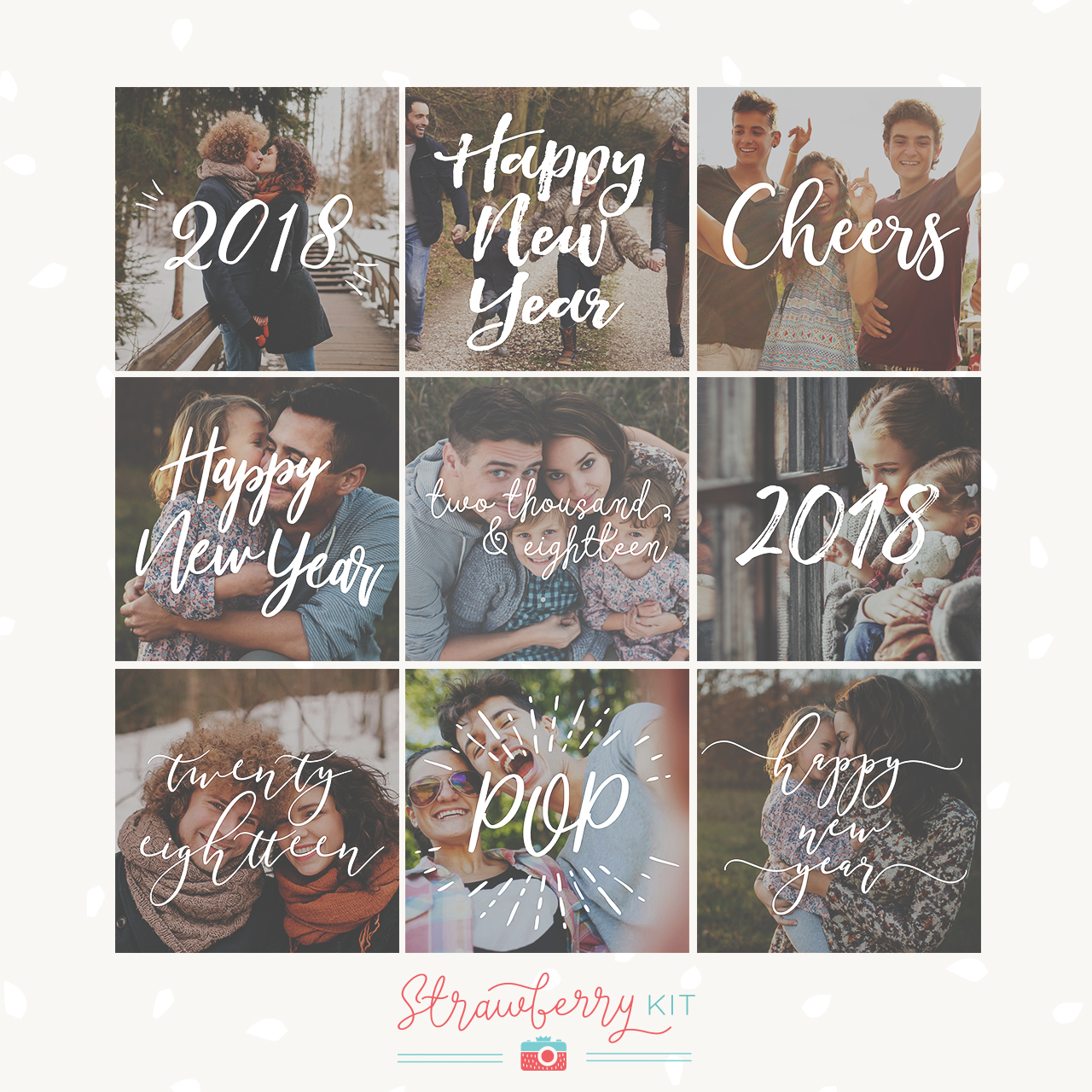 Happy New Year Overlays 2018