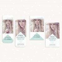 Senior Rep Card Templates Photography Diamond