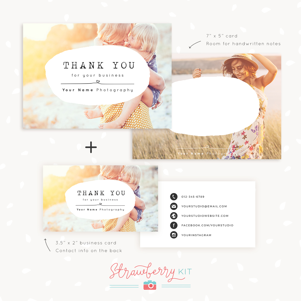 Business thank you cards templates mandegarfo business thank you cards templates cheaphphosting Choice Image