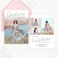 Graduation Invitation Template Photography