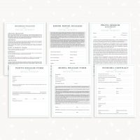 Photography Business Forms Bundle