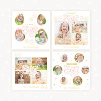 Easter Instagram Templates Photography