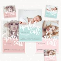 Model Call Templates for Photographers