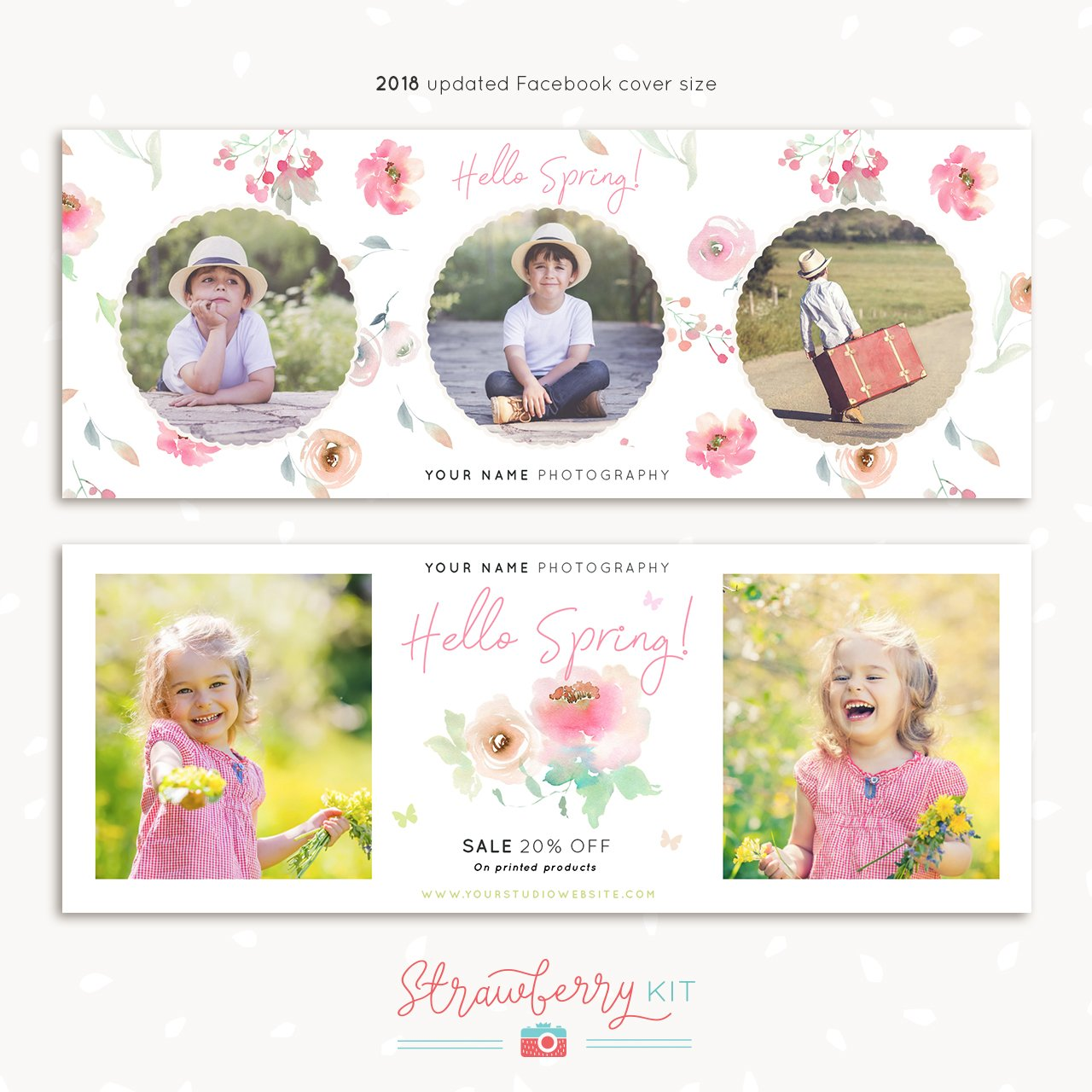 Spring Facebook Cover Template